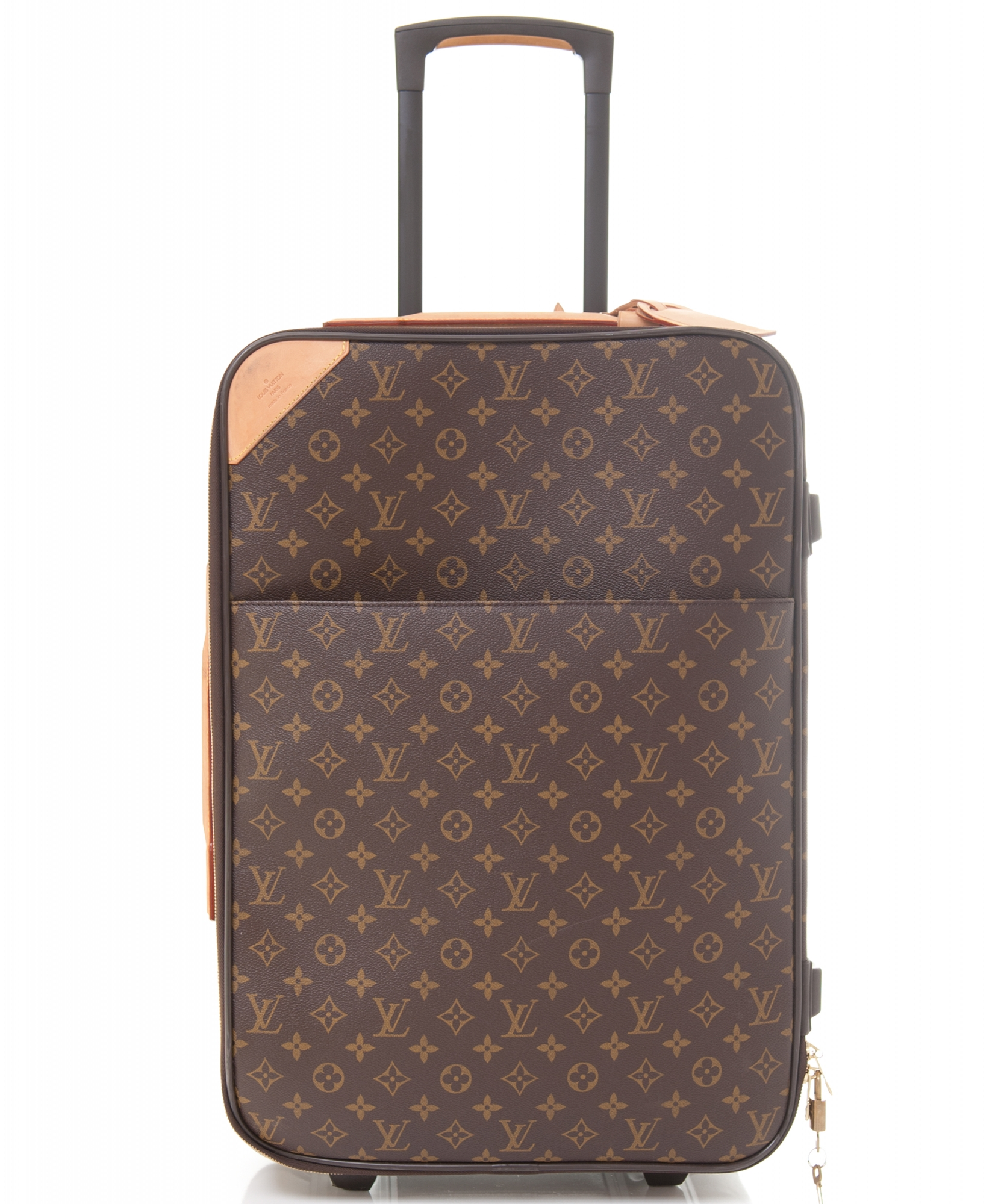louis vuitton trolley 39 p gase 60 39 in monogram canvas la doyenne. Black Bedroom Furniture Sets. Home Design Ideas