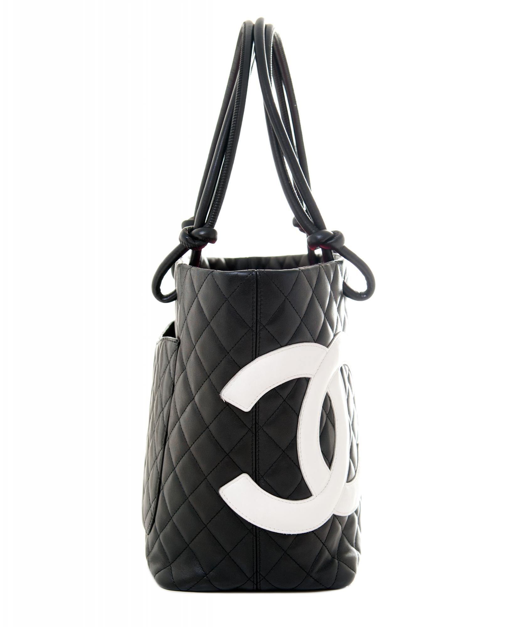 0806a754f2b5 Chanel Black Leather Ligne Cambon Tote Bag | La Doyenne