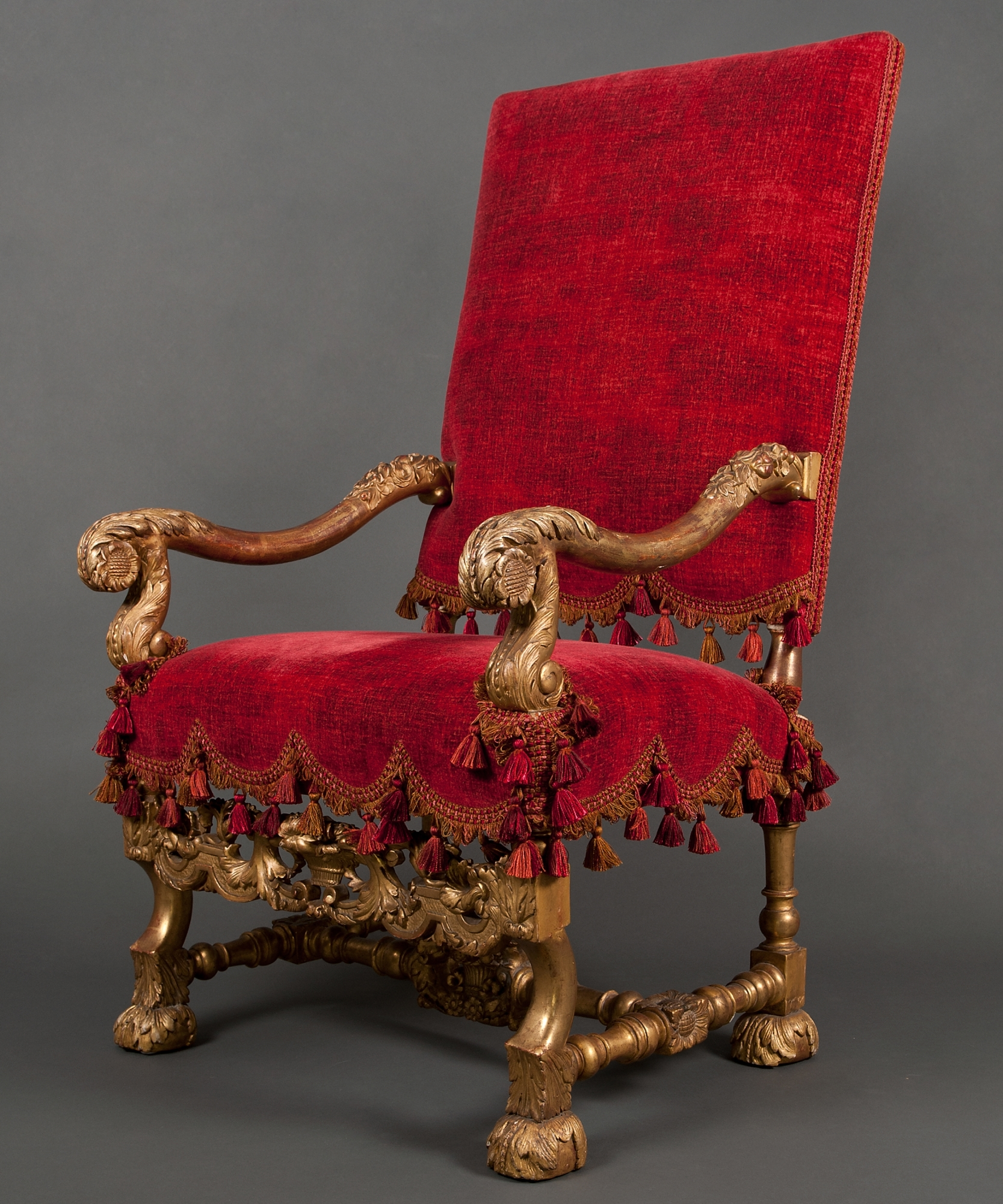 A Louis Xiv Armchair Artlistings