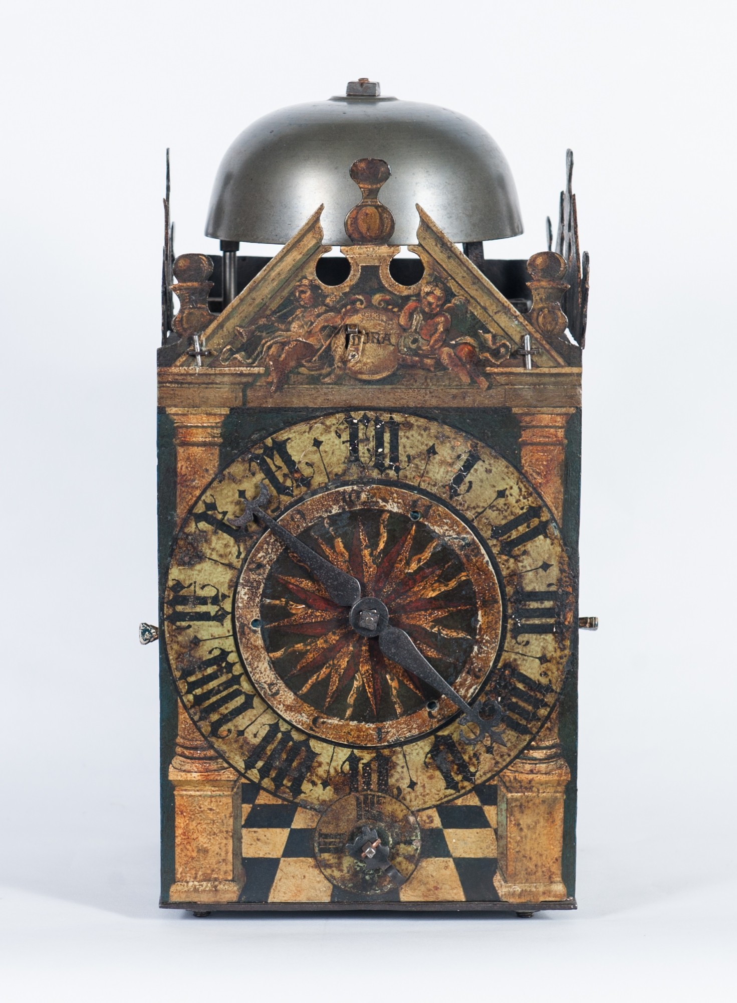 A Very Early German Late 16th Century Painted Chamber