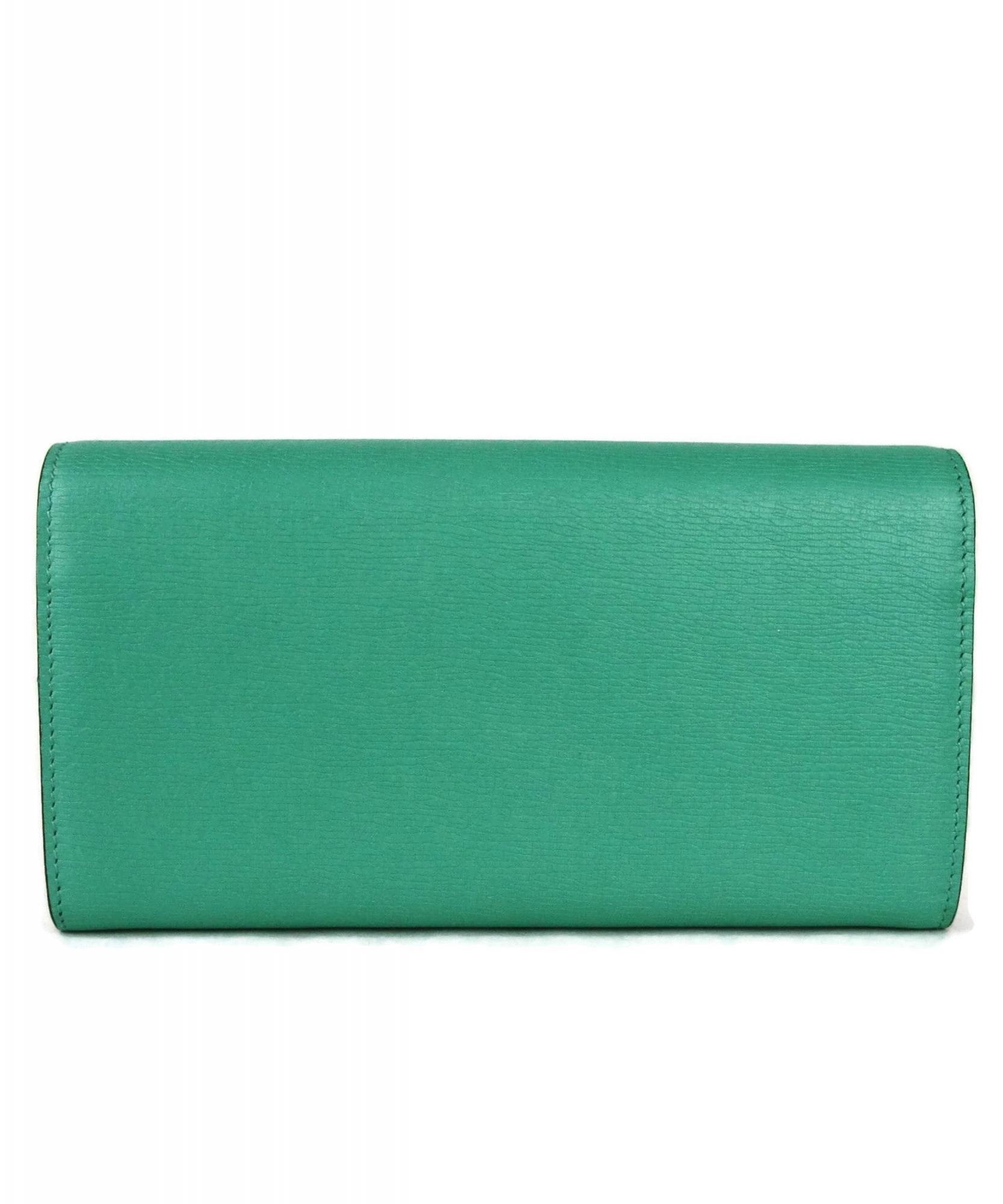 Gucci Rust Leather Horsebit Wallet