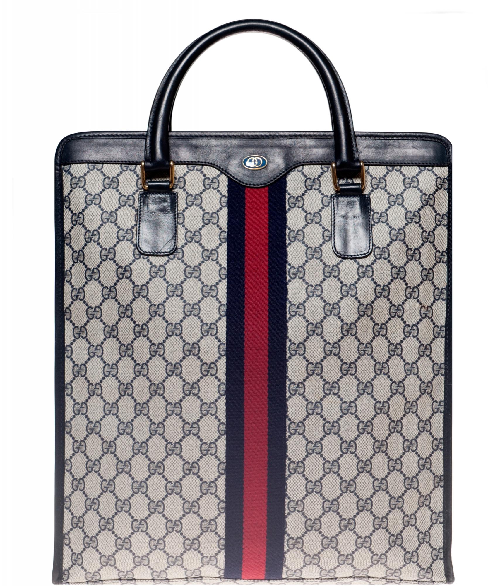 a6e2f67ecb22 Vintage Gucci Monogram Tote Bag   La Doyenne