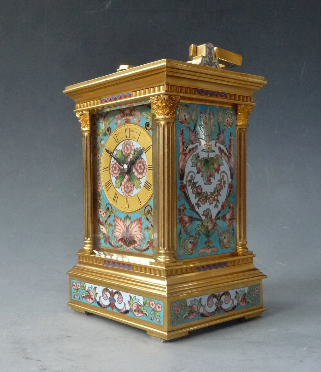 carriage clock case anglaise by richard cloisonn. Black Bedroom Furniture Sets. Home Design Ideas