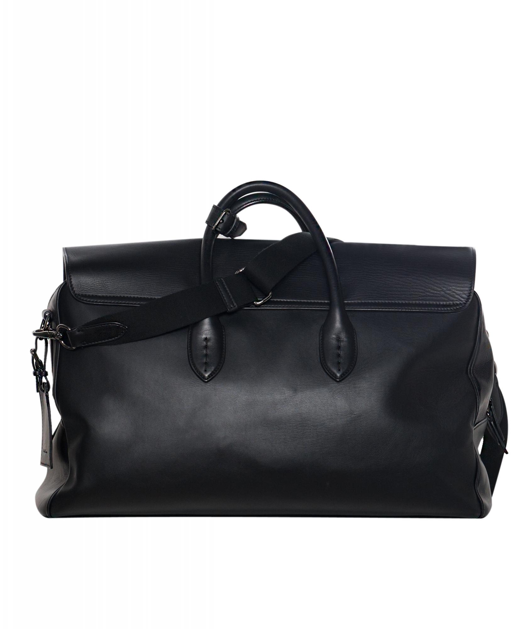 c8cca8ed05 Ralph Lauren Black Leather Cooper Bag