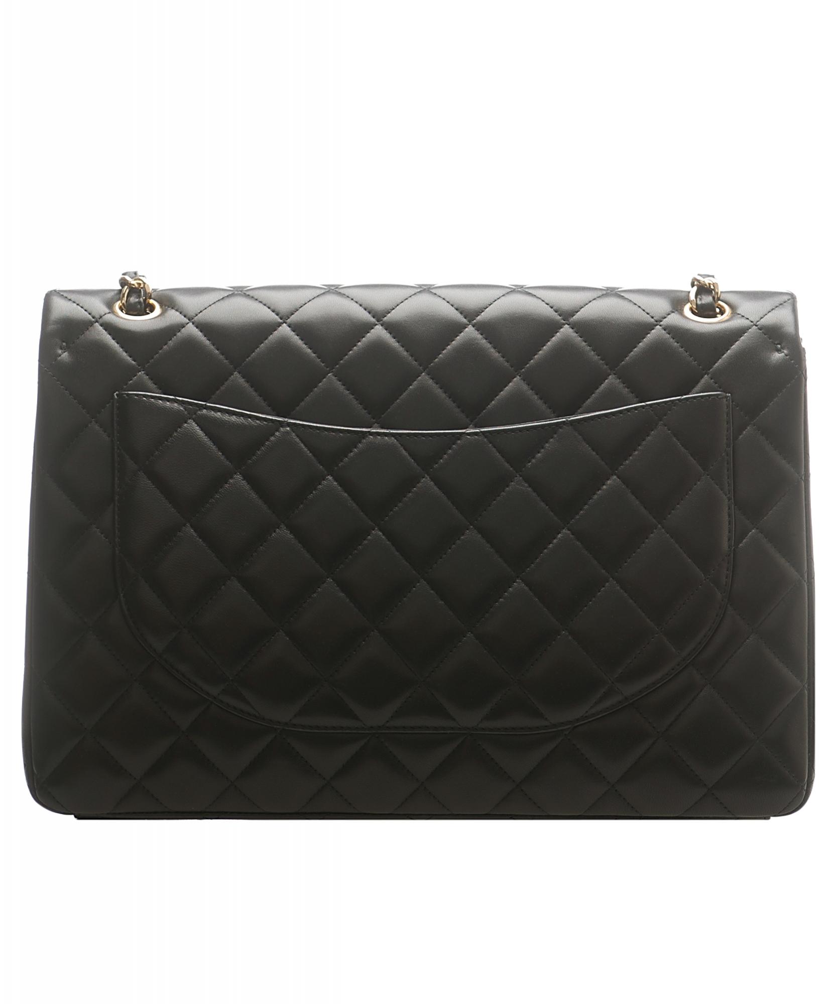 3f9faee366fd Chanel Classic Single GHW Flap Bag - Maxi