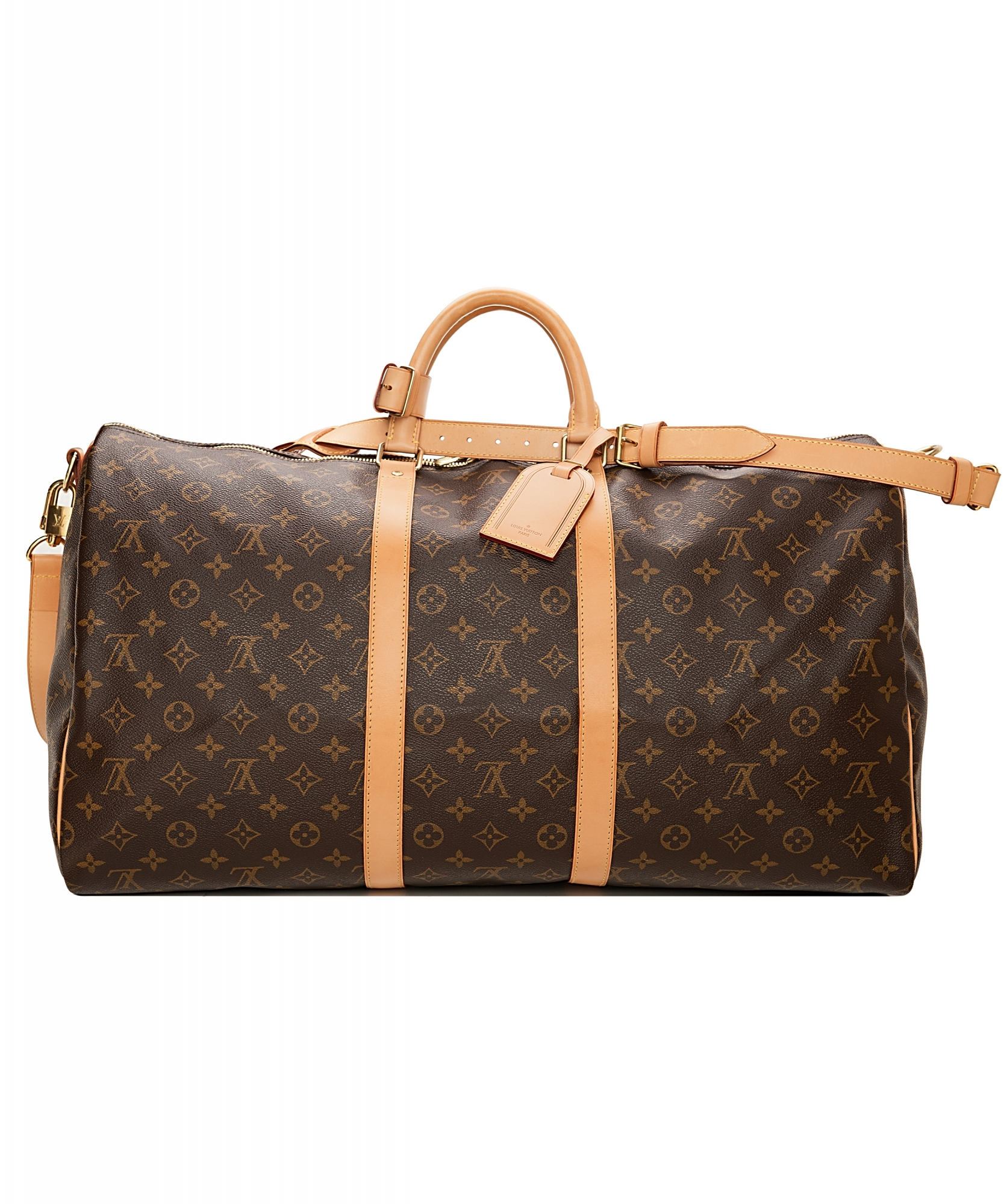louis vuitton keepall 55 monogram canvas la doyenne. Black Bedroom Furniture Sets. Home Design Ideas