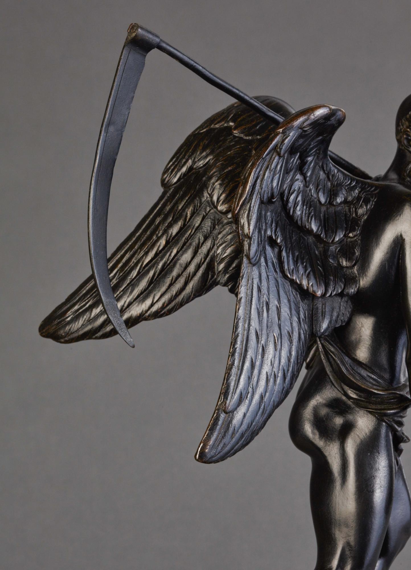 A Bronze Statue Of Kronos Cronus Circa 1820 Artlistings