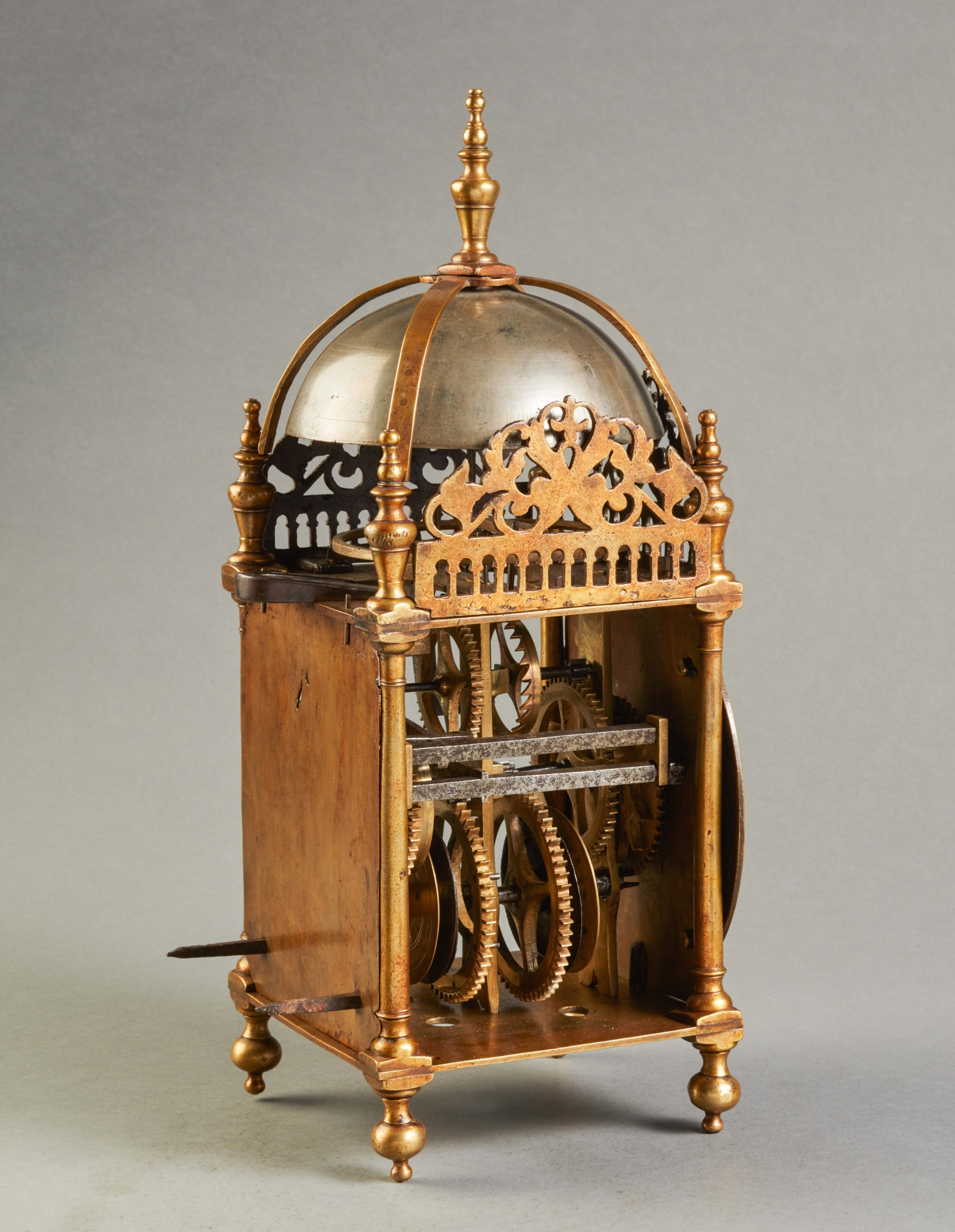 English 17th Century Lantern Clock Circa 1640 Toebosch
