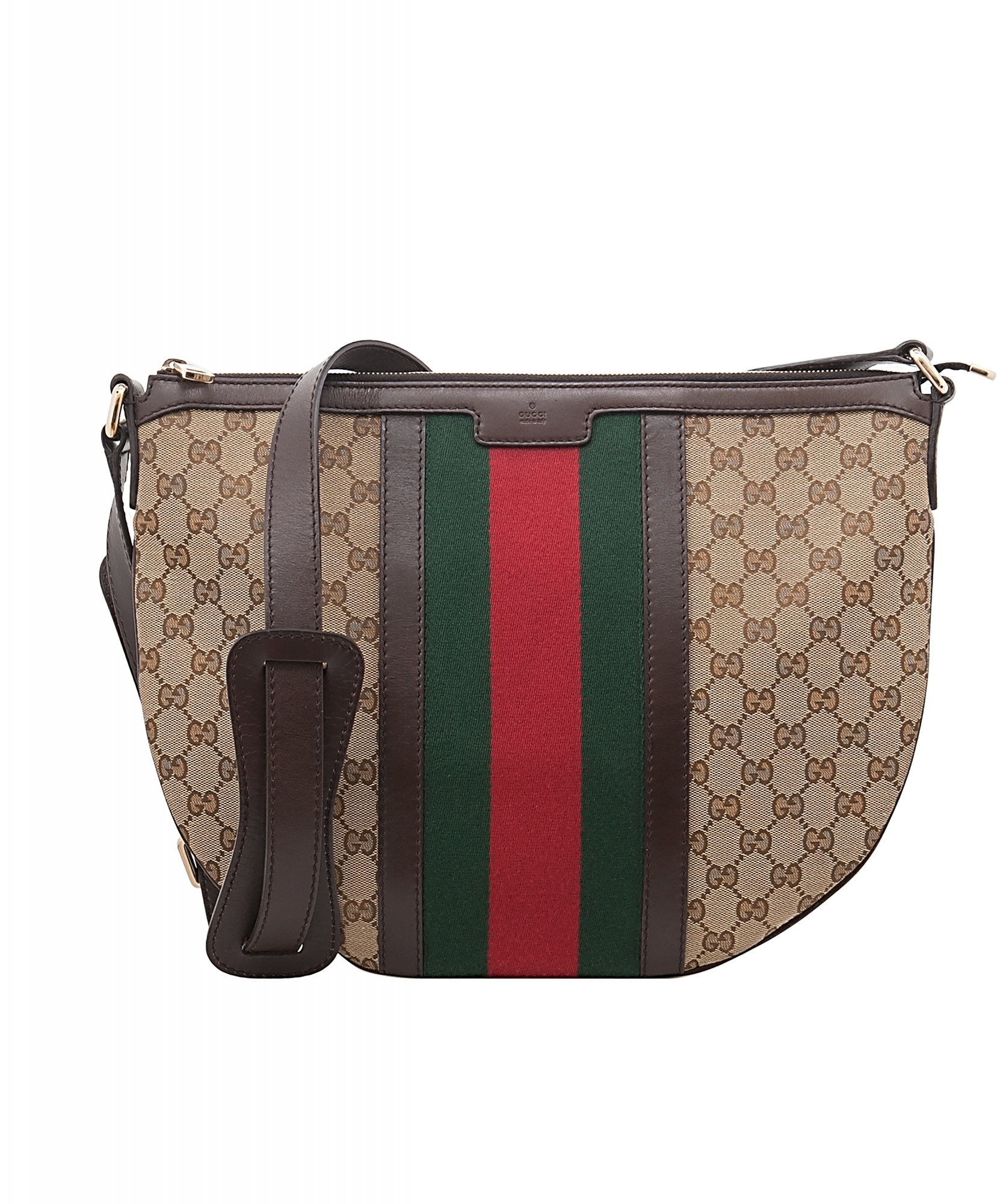 5c744b159cd1cd Gucci Vintage Web GG Canvas Crossbody Bag | La Doyenne