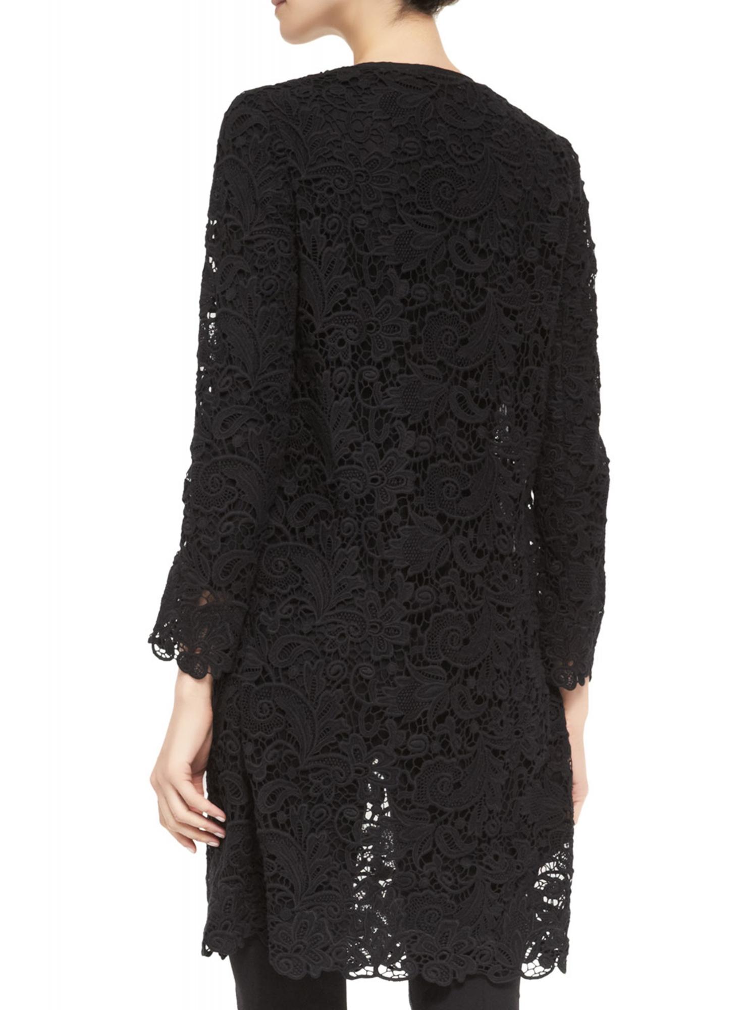 Ralph lauren black label lace coat