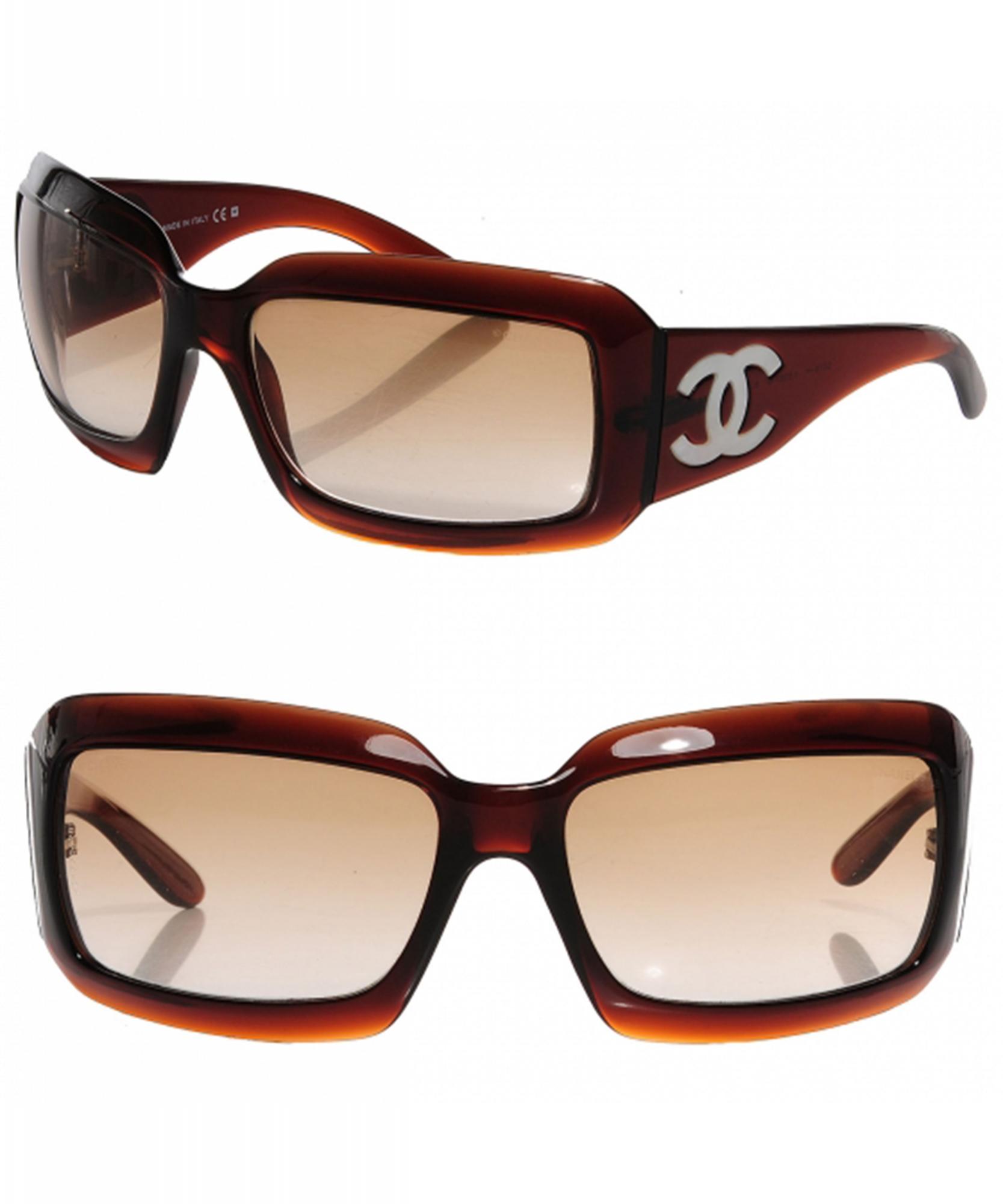 056f223e617 Chanel Mother of Pearl Sunglasses 5076-H Brown