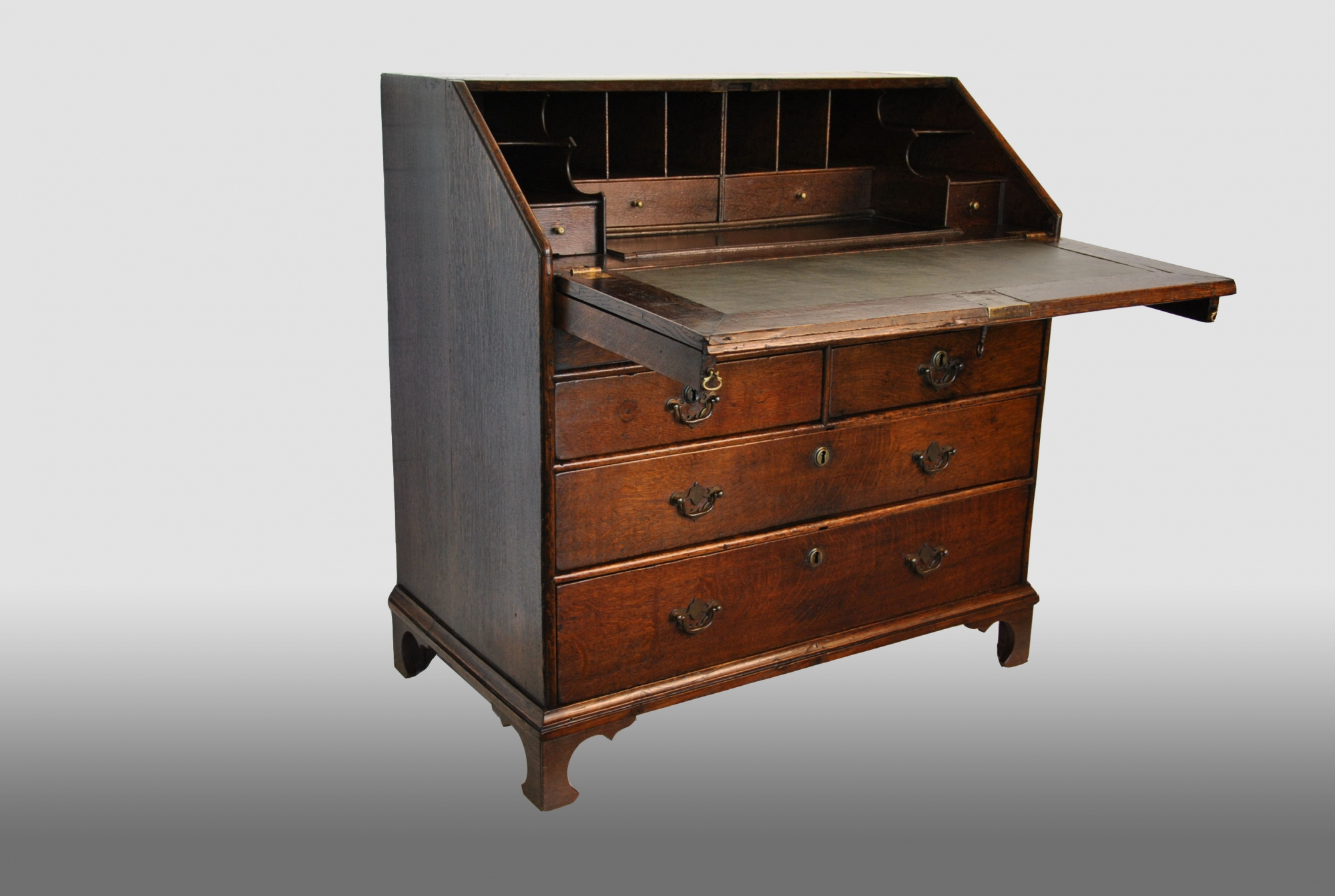 English bureau with step interior th century artlistings