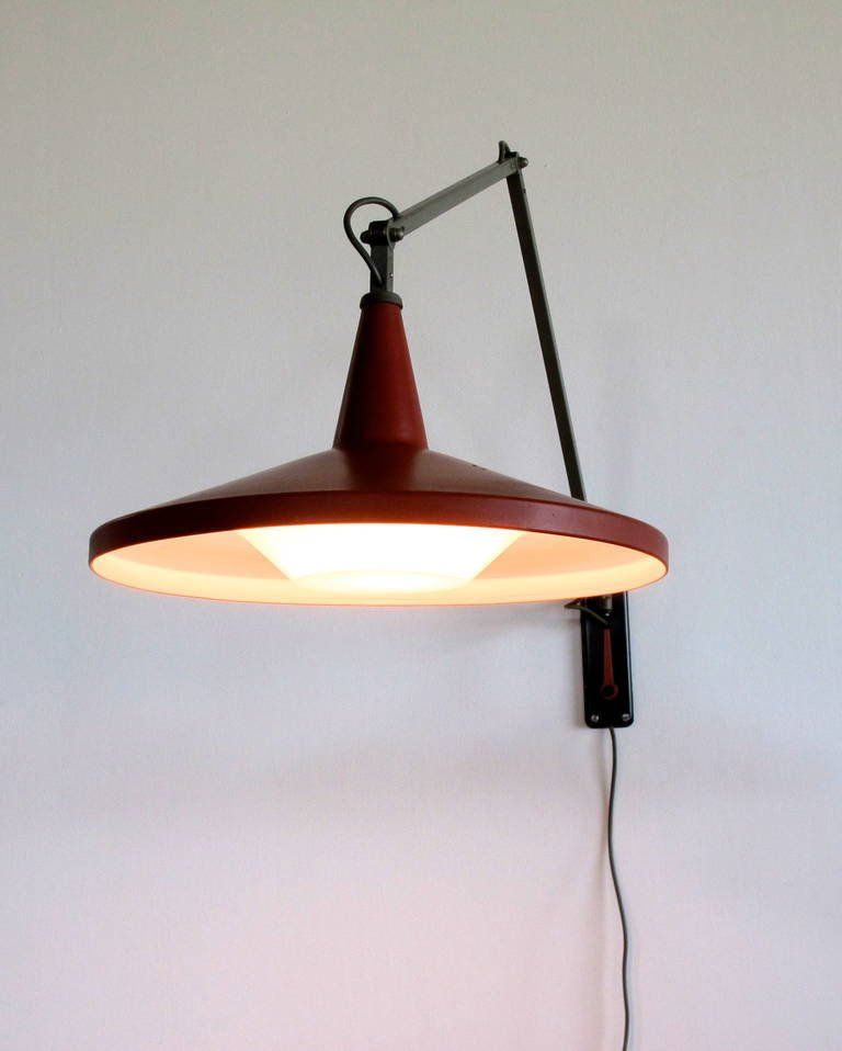 Hanging Lamp Gerrit Rietveld: Wim Rietveld, Panama Lamp, Giso 4050, Ca. 1955