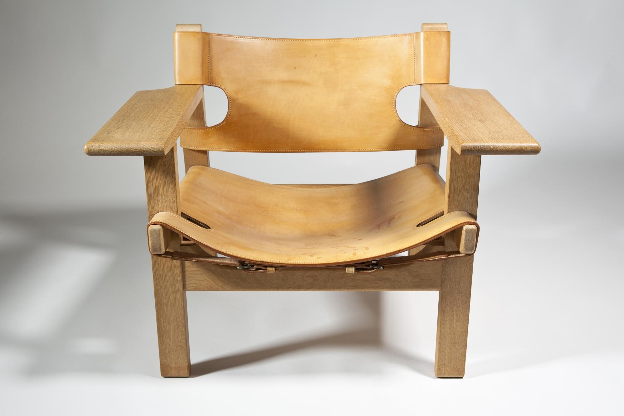 børge mogensen spanish chair design 1958 execution ca 1970 by