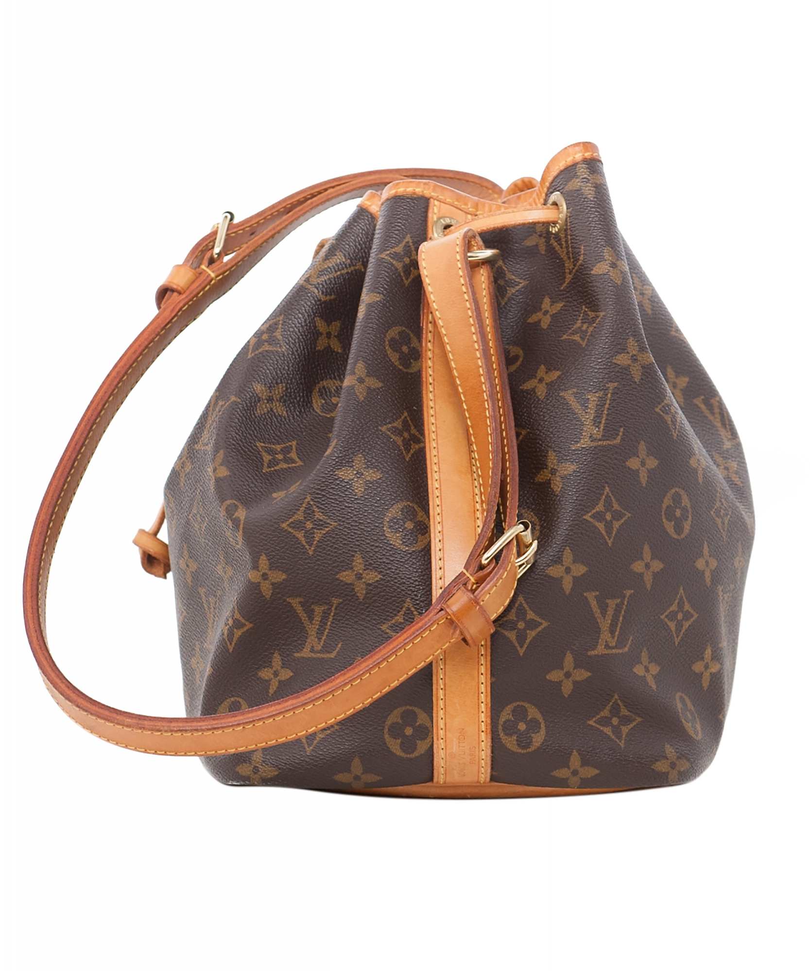 louis vuitton petit no monogram canvas shoulder bag artlistings. Black Bedroom Furniture Sets. Home Design Ideas