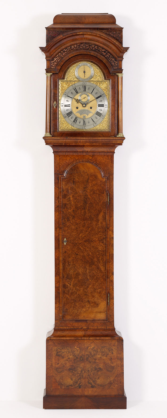 horloge de parquet anglais kollenburg antiquairs. Black Bedroom Furniture Sets. Home Design Ideas
