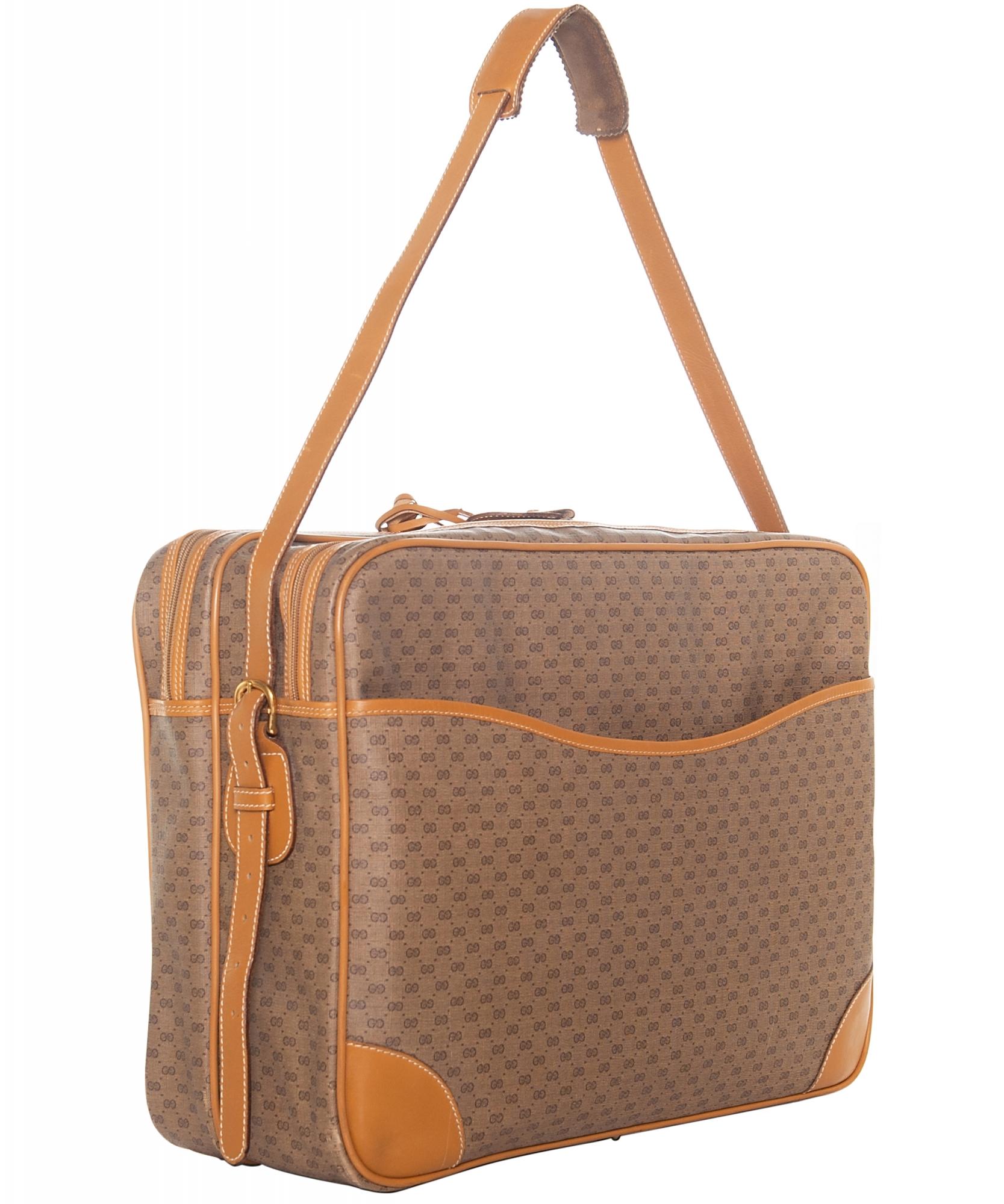 93ffe1b1af5 Tap to expand · Vintage Gucci Weekender Travel Bag ...