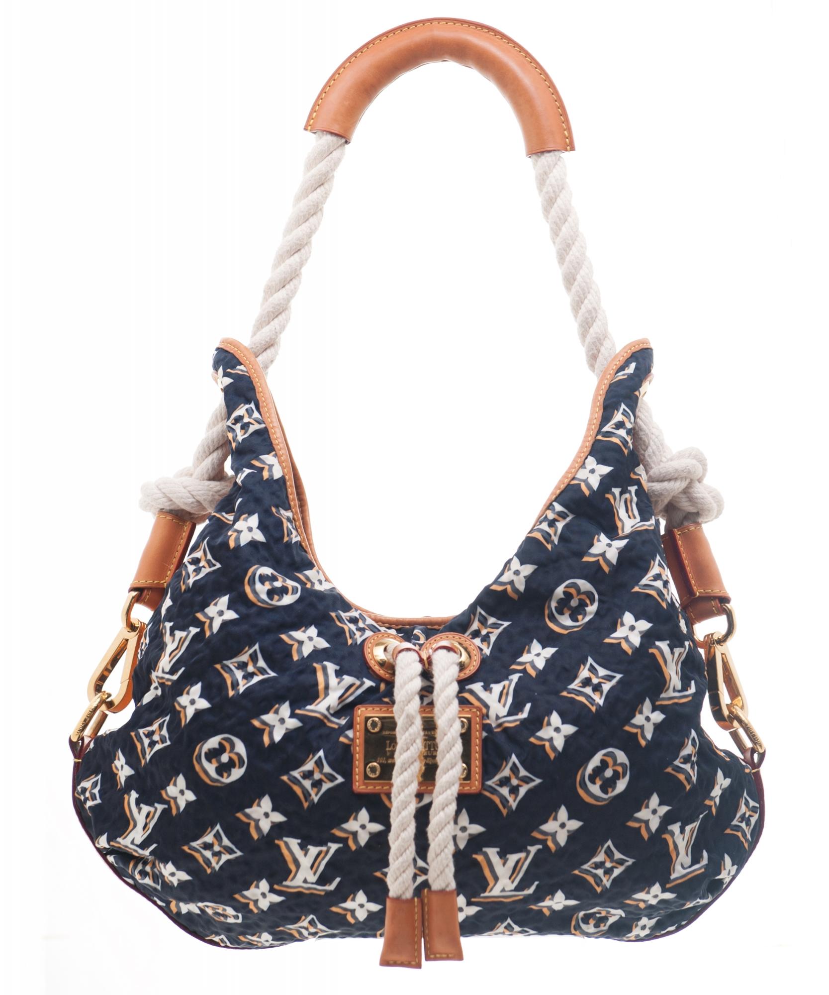 Louis Vuitton Navy Monogram Bulles MM Bag - Limited Edition  7dec0389d522b