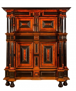 A rare cupboard attributed to Herman Doomer