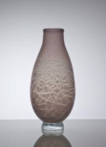 A.D. Copier, Unique vase with tin crackle, 1926 - Andries Dirk (A.D.) Copier