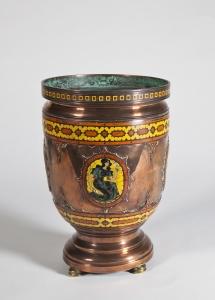 Jan Eisenloeffel, Unieke bronzen vaas, 1915 - Jan Eisenloeffel