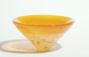 Willem Heesen, Unieke glazen vaas, Studio de Oude Horn, 1992 - Willem Heesen