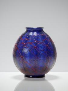 Chris Lanooy, Unique experimental glass vase, 1920s - Chris (C.J.) Lanooy