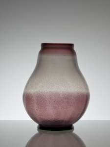 A.D. Copier, One-off glass vase with tin crackle, Glass Factory Leerdam, 1926 - Andries Dirk (A.D.) Copier