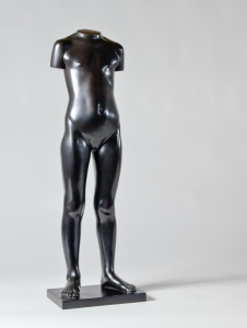 Eja Siepman van den Berg, 'Standing girl', bronze, executed by Bronze Foundry Binder, 1972 - Eja Siepman van den Berg