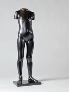 Eja Siepman van den Berg, 'Standing girl', bronze, executed by Bronze Foundry Binder, 1972 - Eja Siepman van den Berg