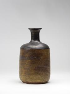 Jan van der Vaart, Keramische vaas met brons glazuur, 1960 - Jan van der Vaart