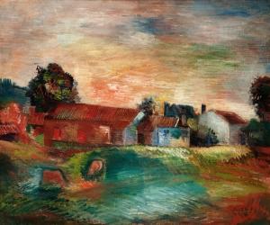 Le Paysage du Limousin - Jean Dufy