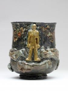 Hildo Krop, Urn, glazed ceramics, 1948 - Hildo (H.L.) Krop
