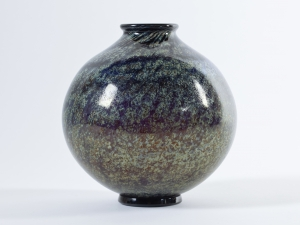 C.J. Lanooy, Unique vase with irisé, Glass Factory Leerdam, ca. 1928 - Chris (C.J.) Lanooy