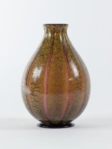C.J. Lanooy, Paarse vaas met optiek en gele huid, jaren '20 - Chris (C.J.) Lanooy