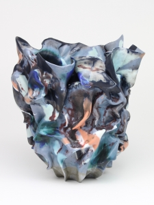 Babs Haenen, Vase 'Firebird', Porcelain with pigments and glaze, 2015 - Babs Haenen