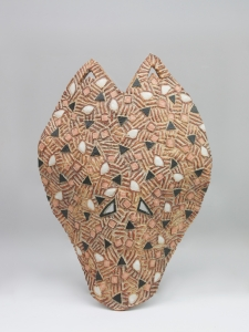 Johnny Rolf, 'Mask II', stoneware, 1986 - Johnny Rolf