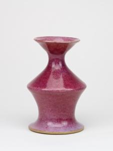 Jan van der Vaart, Unieke paars geglazuurde vaas, 1980 - Jan van der Vaart