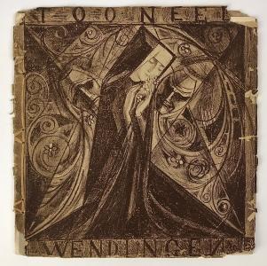 Wendingen, Tooneel, cover design Jan Toorop, 1919, edition 9-10 - Jan Toorop