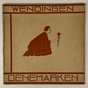 Wendingen, Danish architecture, cover design S. Jessurun de Mesquita, 1927, edition 4 - Samuel Jessurun de Mesquita