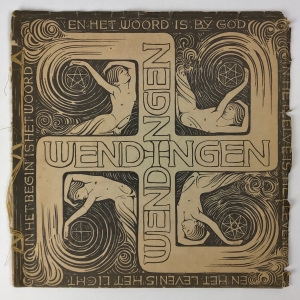 Wendingen, Eastern art, cover design Karel de Bazel, 1919, edition 1 - K.P.C. de Bazel