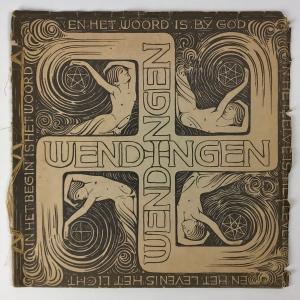 Wendingen, Oosterse kunsten, omslagontwerp Karel de Bazel, 1919, nummer 1 - K.P.C. de Bazel