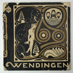 Wendingen, Works by the Dutch sculptor Joseph Mendes da Costa, cover design Joseph Mendes da Costa, 1923, edition 5-6 - Joseph Mendes da Costa