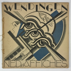 Wendingen, Dutch posters, cover design S.L. Schwarz, 1931, edition 2 - Mommie (S.L.) Schwarz
