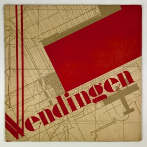 Wendingen, Aerial photographs, cover design Arthur Staal, 1930, edition 5 - Arthur Staal