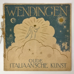 Wendingen, Ancient Italian art, cover design Jan Poortenaar, 1929, edition 10 - Jan Poortenaar