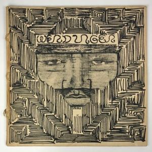 Wendingen, Architect J.L.M. Lauweriks, cover design J.L.M. Lauweriks, 1929, edition 8 - J.L.M. Lauweriks