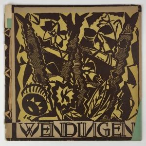 Wendingen, Kunst der Hongaren, omslagontwerp Jozef Cantré, 1920, nummer 5 - Jozef Cantre