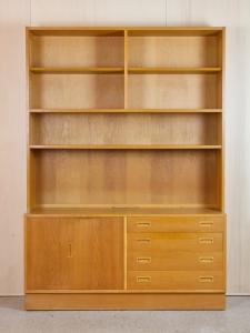 Hundevad Denmark, Oak bookcase, 1960s - Hundevad