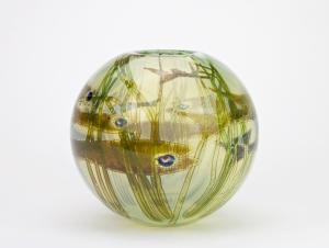 Willem Heesen, Unique vase 'Waterside', De Oude Horn, 1982 - Willem Heesen